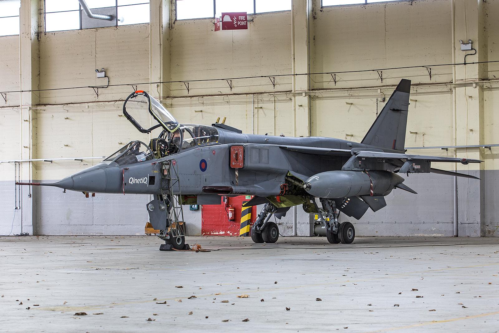 Auch in Deutschland flogen die Jaguare, und zwar in RAF Brüggen an der holländischen Grenze.