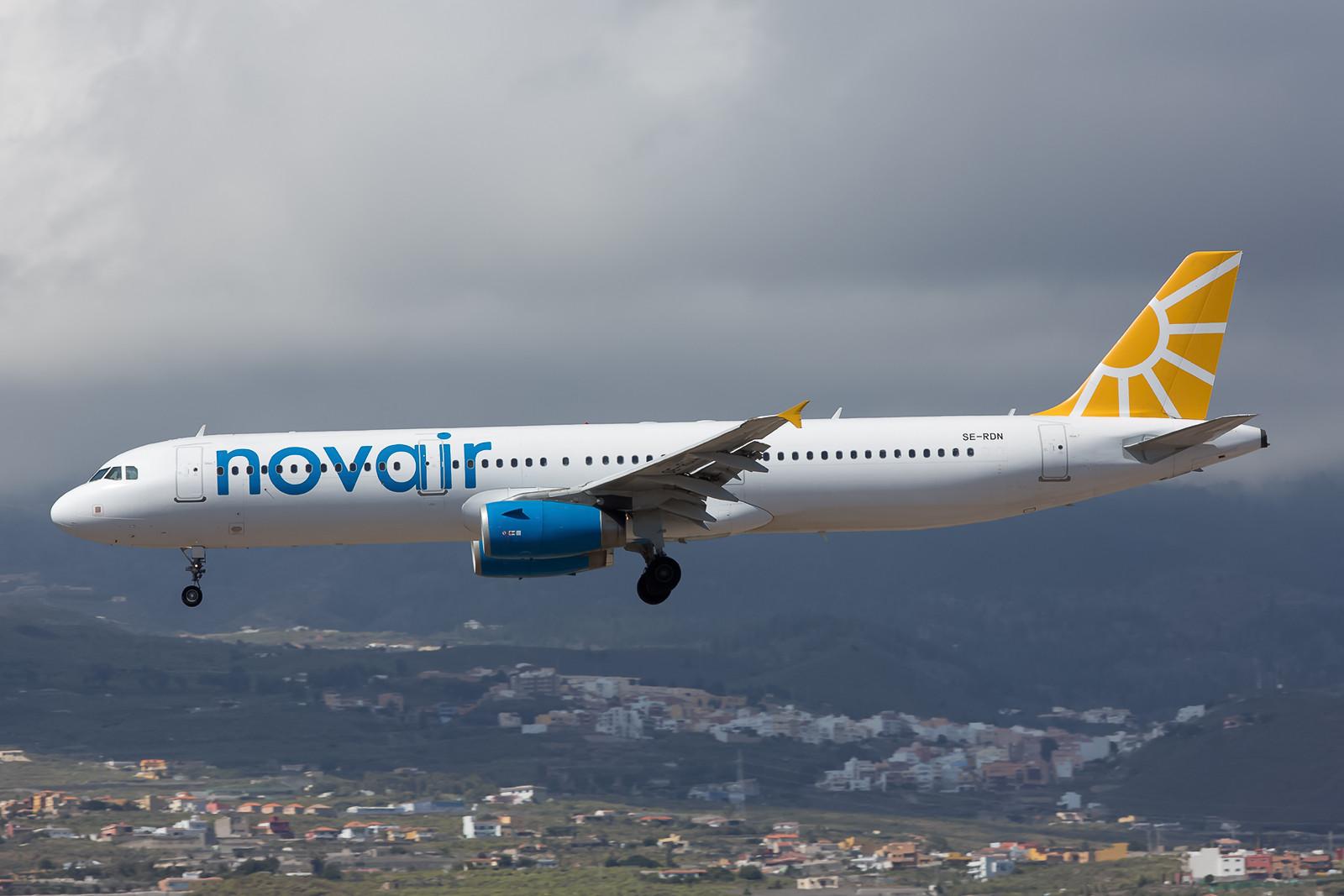 Die schwedische Novair operiert u.a. mit diesem rund 10 Jahre alten Airbus 321.