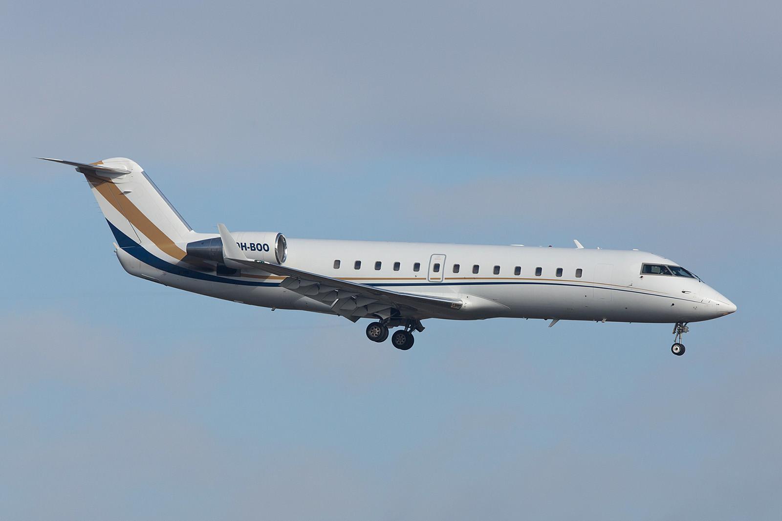 9H-BOO; Air X Charter CRJ-200
