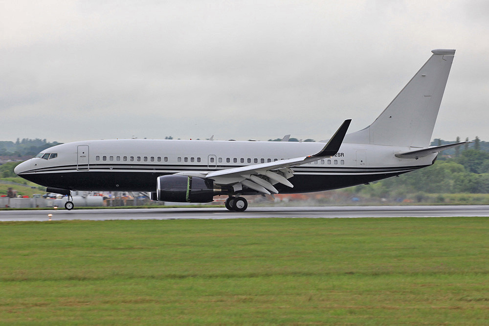 BBJ der Star Flight Express.