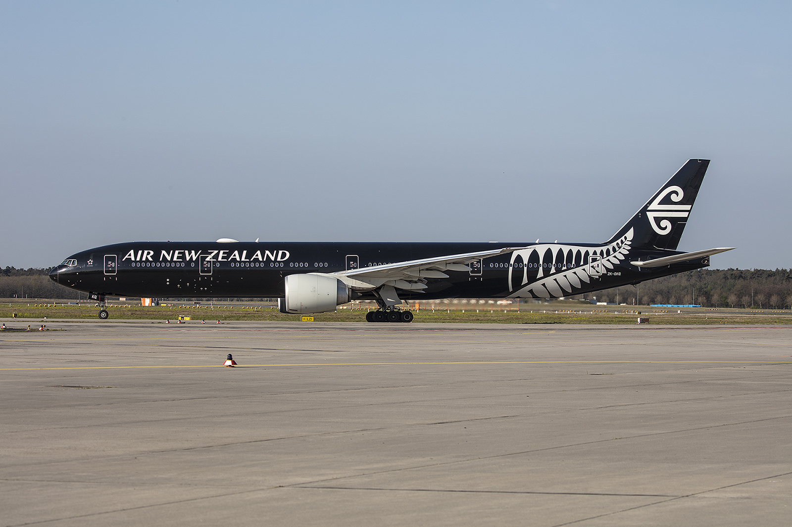 Die All Black brachte Neuseeländer zurück in die Heimat.