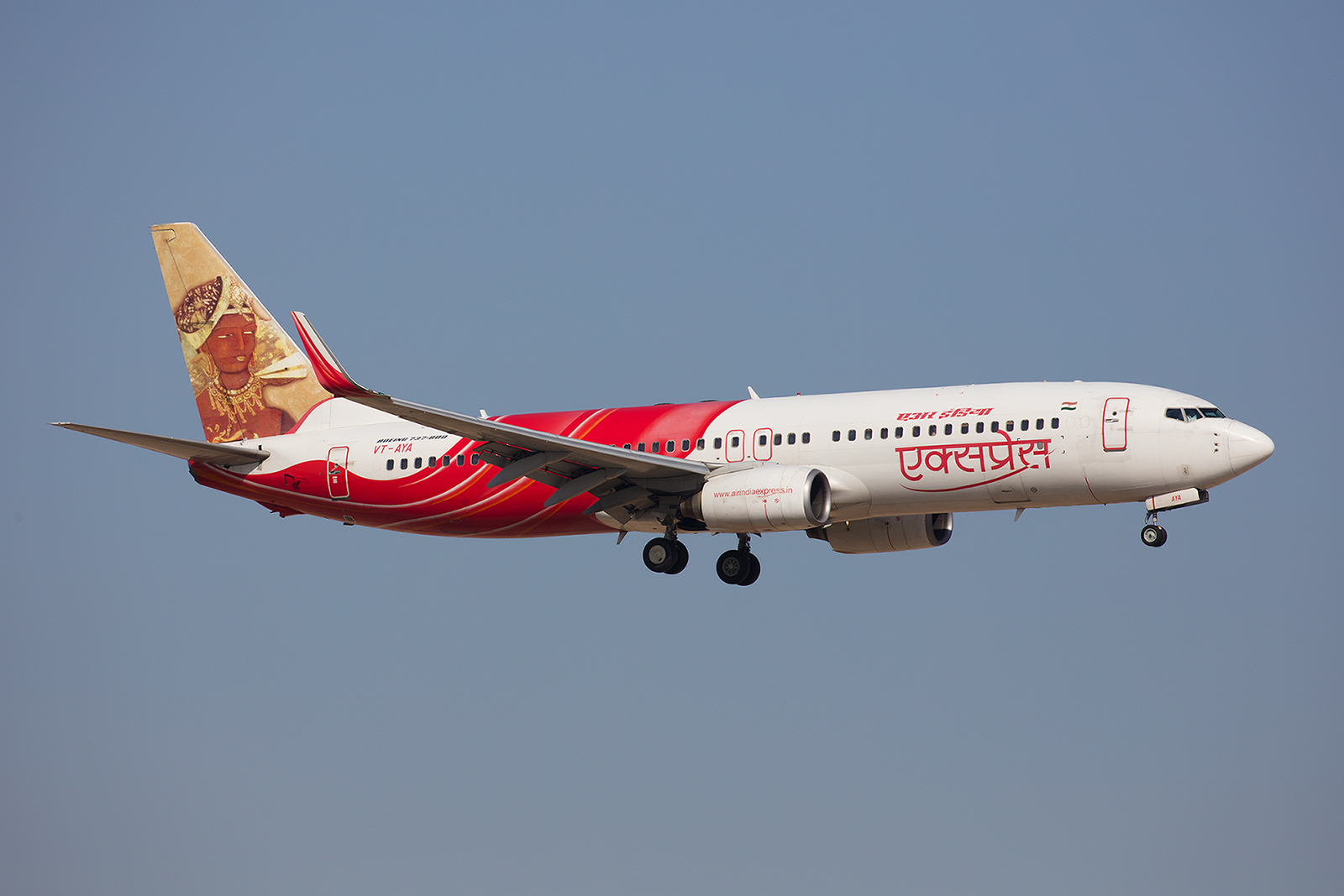 Boeing 737-800 der Air India Express.