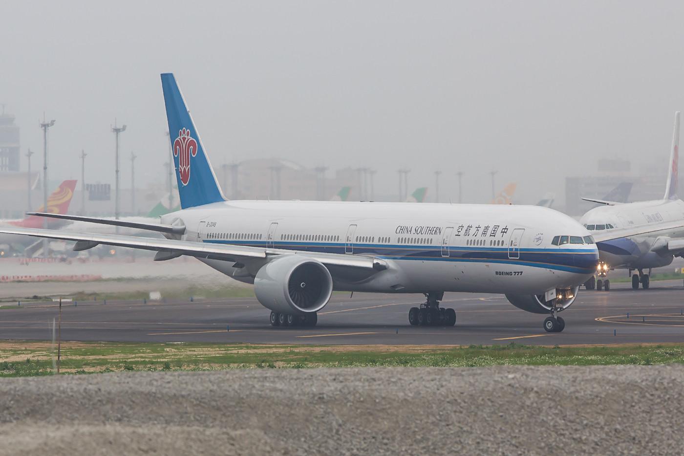 Meine erste Boeing 777-300ER der China Southern.