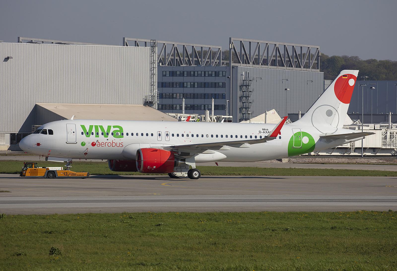 Ebenfalls im Lowcoastbereich operiert Viva Air aus Mexico.