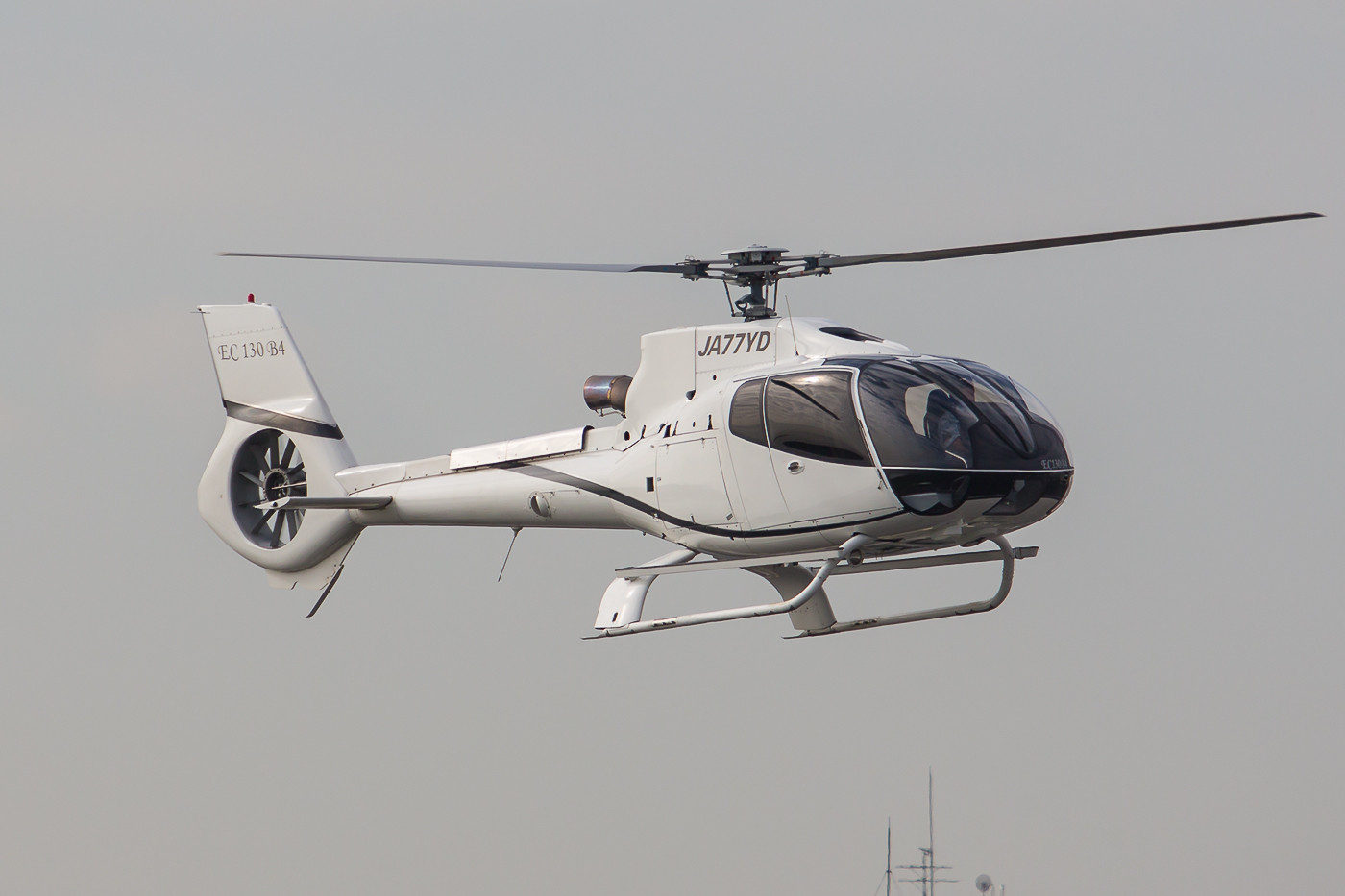 Auch in Japan ist die EC-130, der größere Bruder der 120´er ein eher seltenes Exemplar.