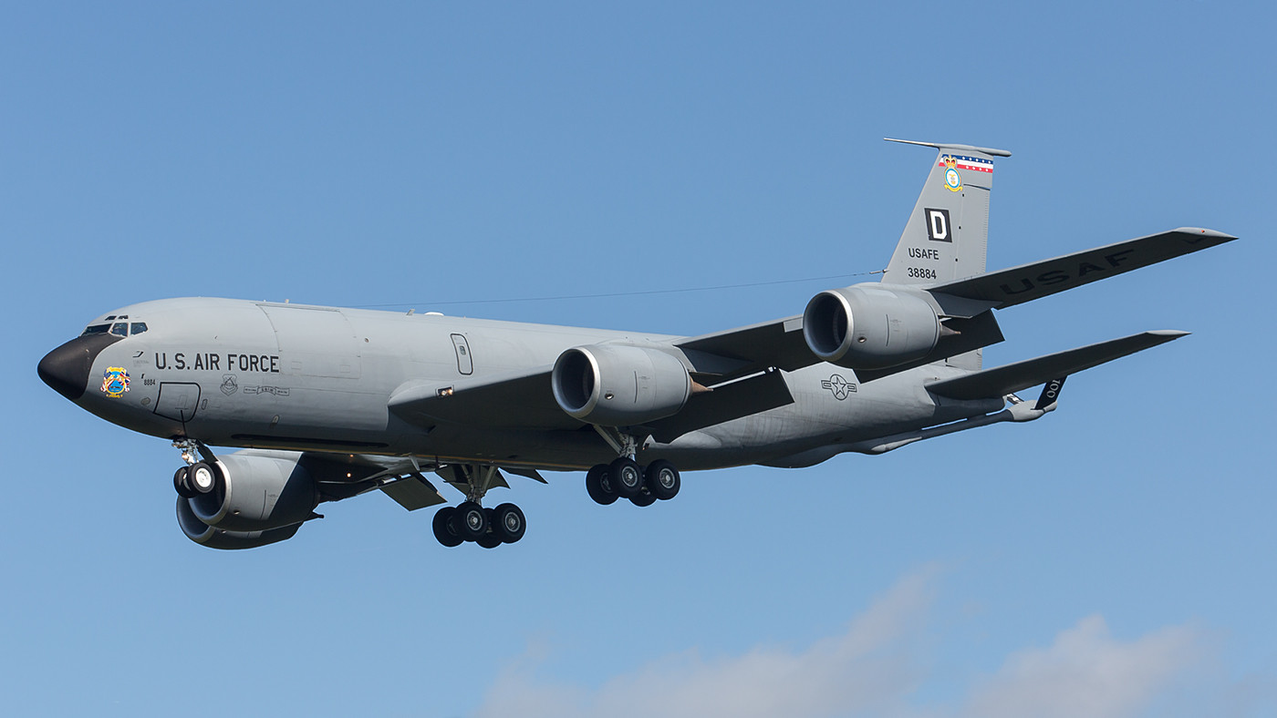 SPM 03.09.2015; 63-8884, KC-135R, 100th ARW RAF Mildenhall