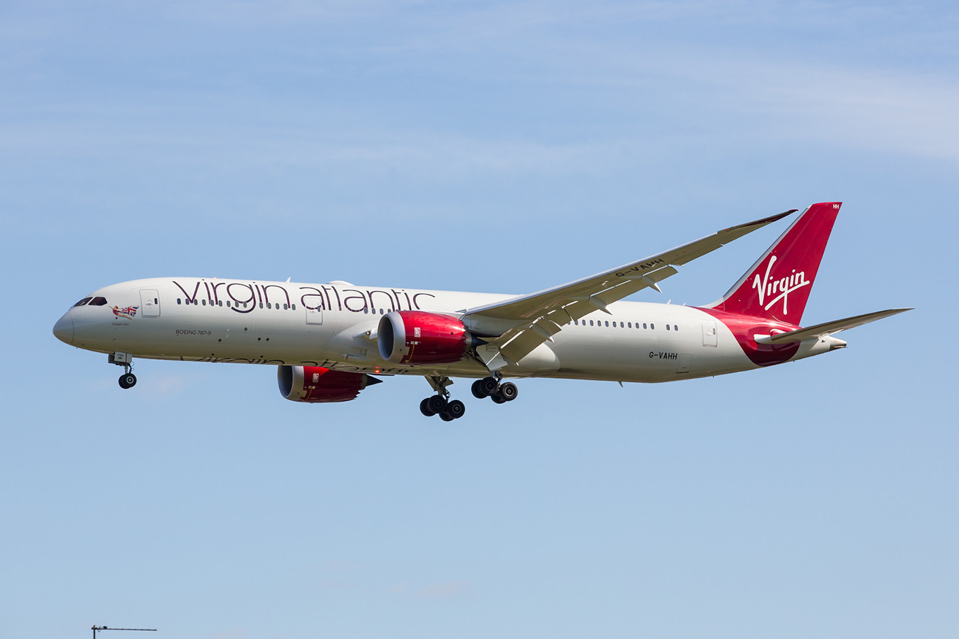 Boeing 787-9 der Virgin Atlantic.