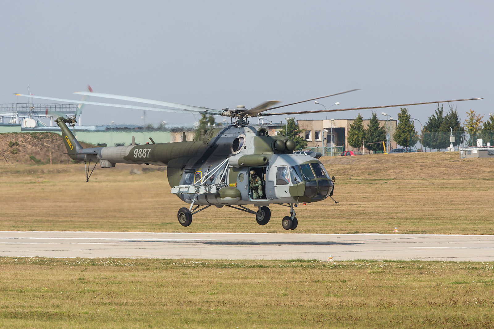 Mi-171Sh der 222nd Helicopter Squadron