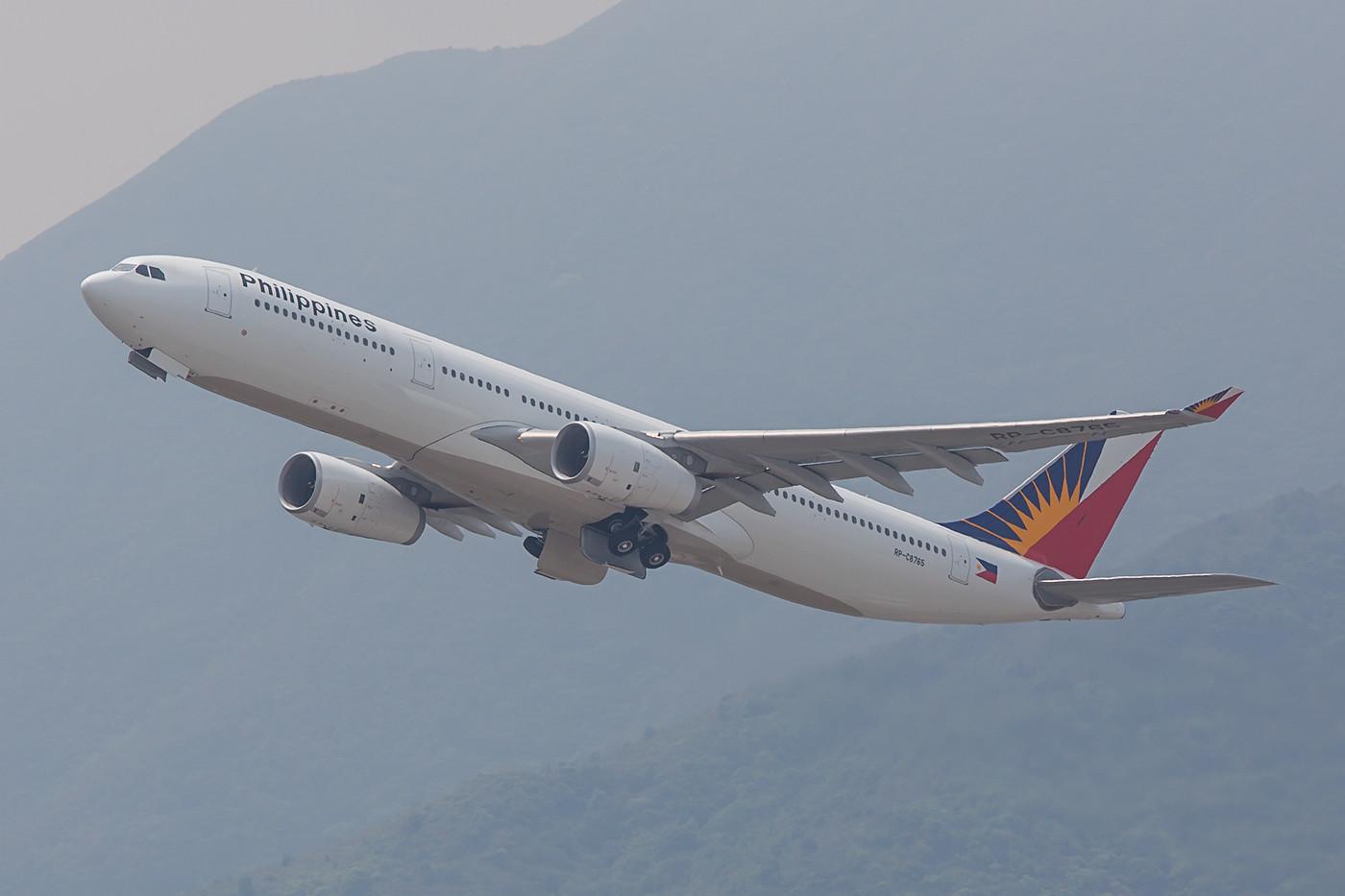 Philipines Airlines verbindet mehrere Ziele des Inselstaates mit HKG, auf der Route aus Manila kommen A 330 zum Einsatz.