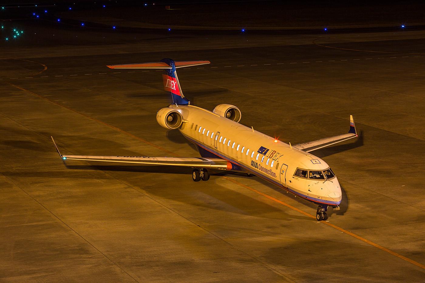 CRJ700 der IBEX.