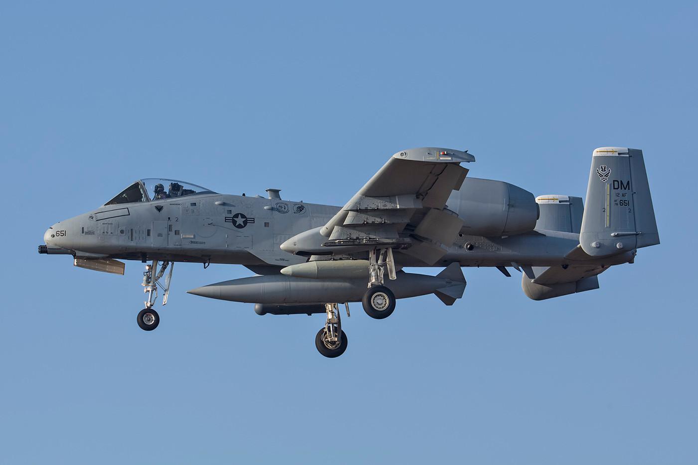 SPM 13.02.2015; 78-0651, A-10C, 12th AF Davis Monthan AFB (Arizona)