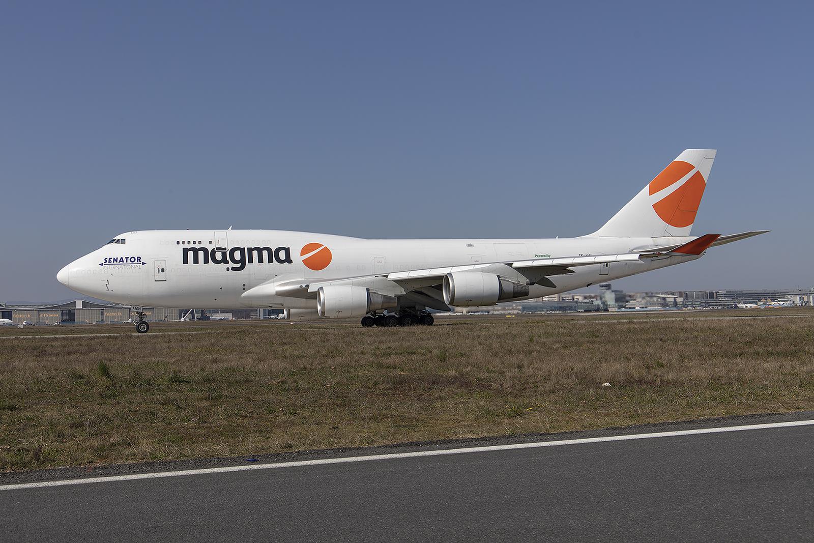 Das Geschäft bei Magma nahm so richtig Fahrt auf und so flog man statt nahch Hahn plötzlich nach FRA.