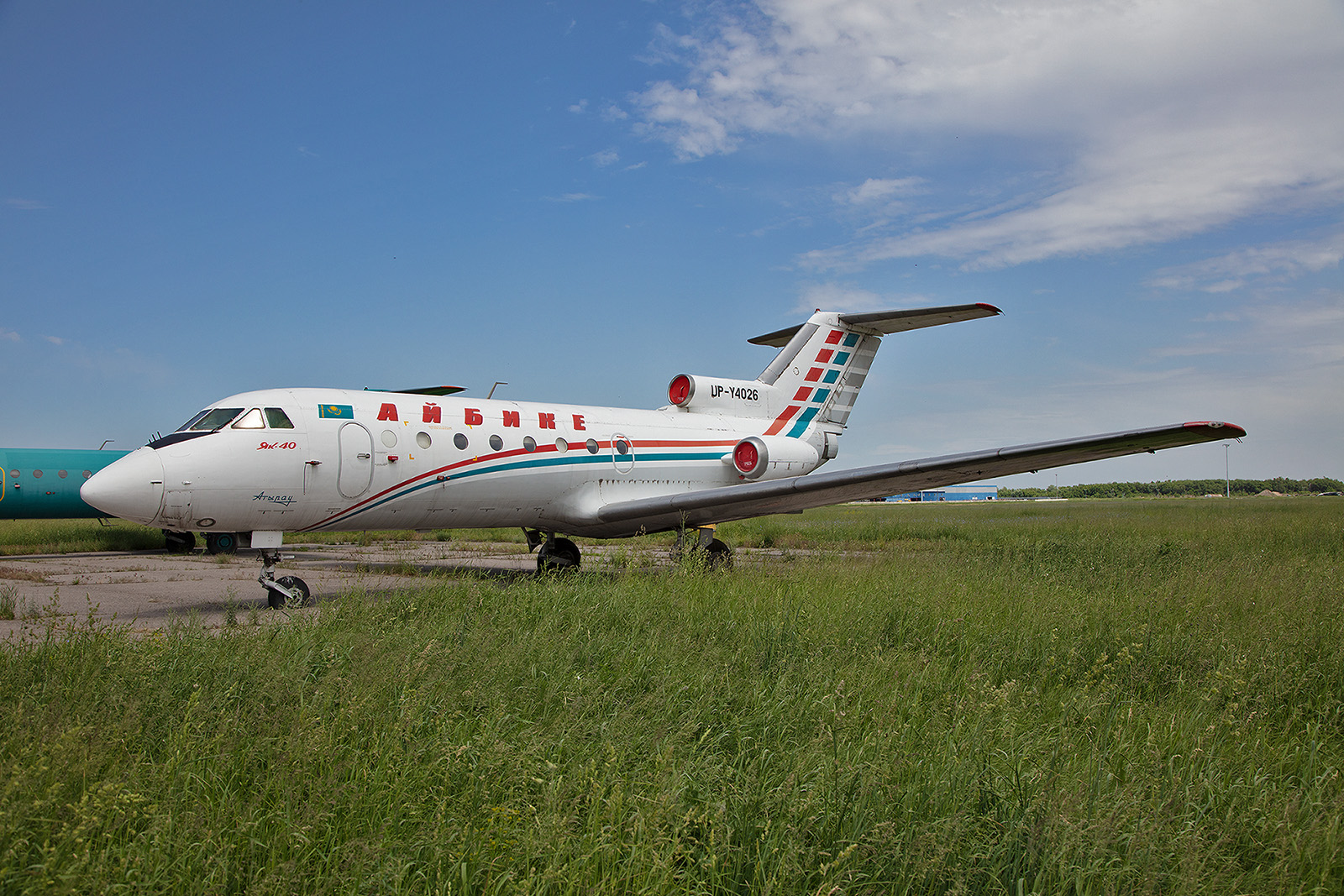 DIese Yak 40 war auch einmal für Euo-Asia Air unterwegs.