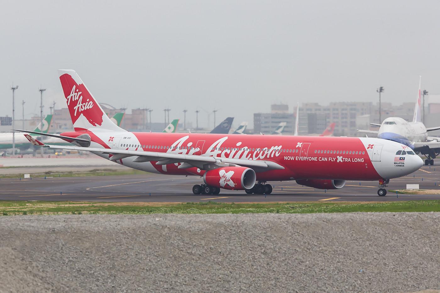 A 330 der malaysischen Air Asia X.