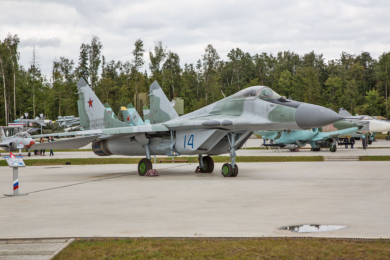 Die MiG-29A, in dieser Variante wurde sie auch 1989 in der NVA geflogen und kam mit der Wende zur Bundeswehr.