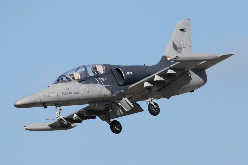 L-159 ALCA der Tschechischen Luftwaffe aus Pardubice.