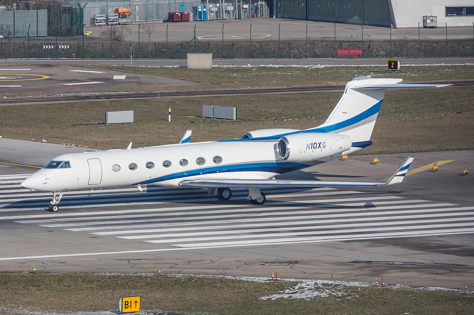 N10XG; Bank of Utah Gulfstream G550
