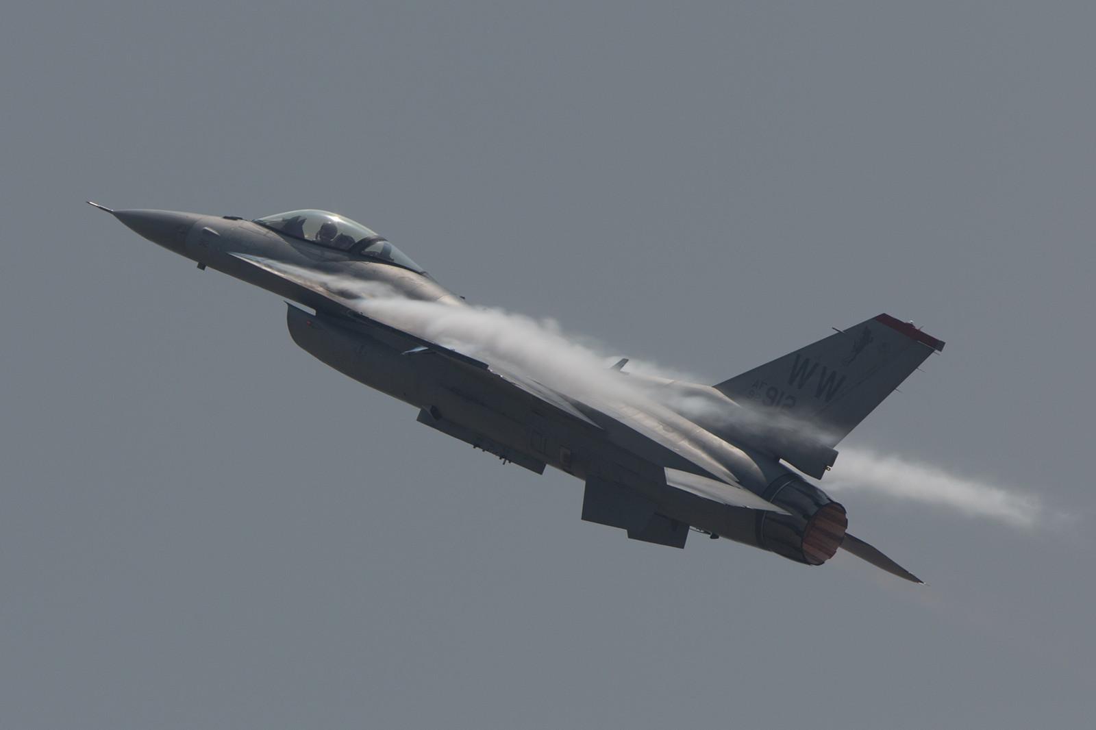 Für das Display über Langkawi war Captain Brown in einer F-16 aus Misawa (Japan) unterwegs.