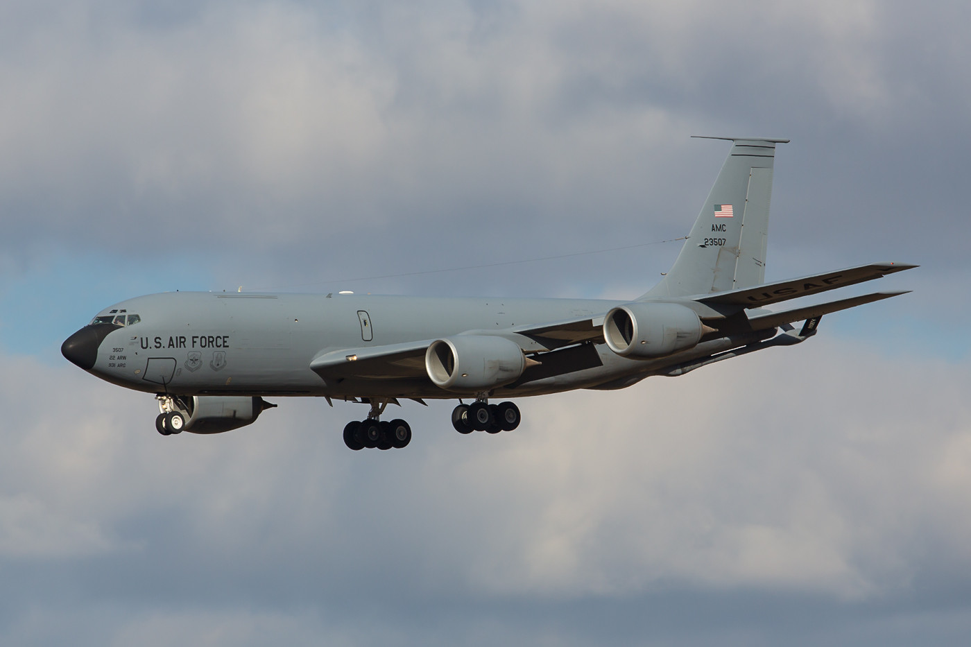 RMS 22.02.2015; KC-135R; 62-3507; 22nd ARW; McConnell AFB (Kansas)