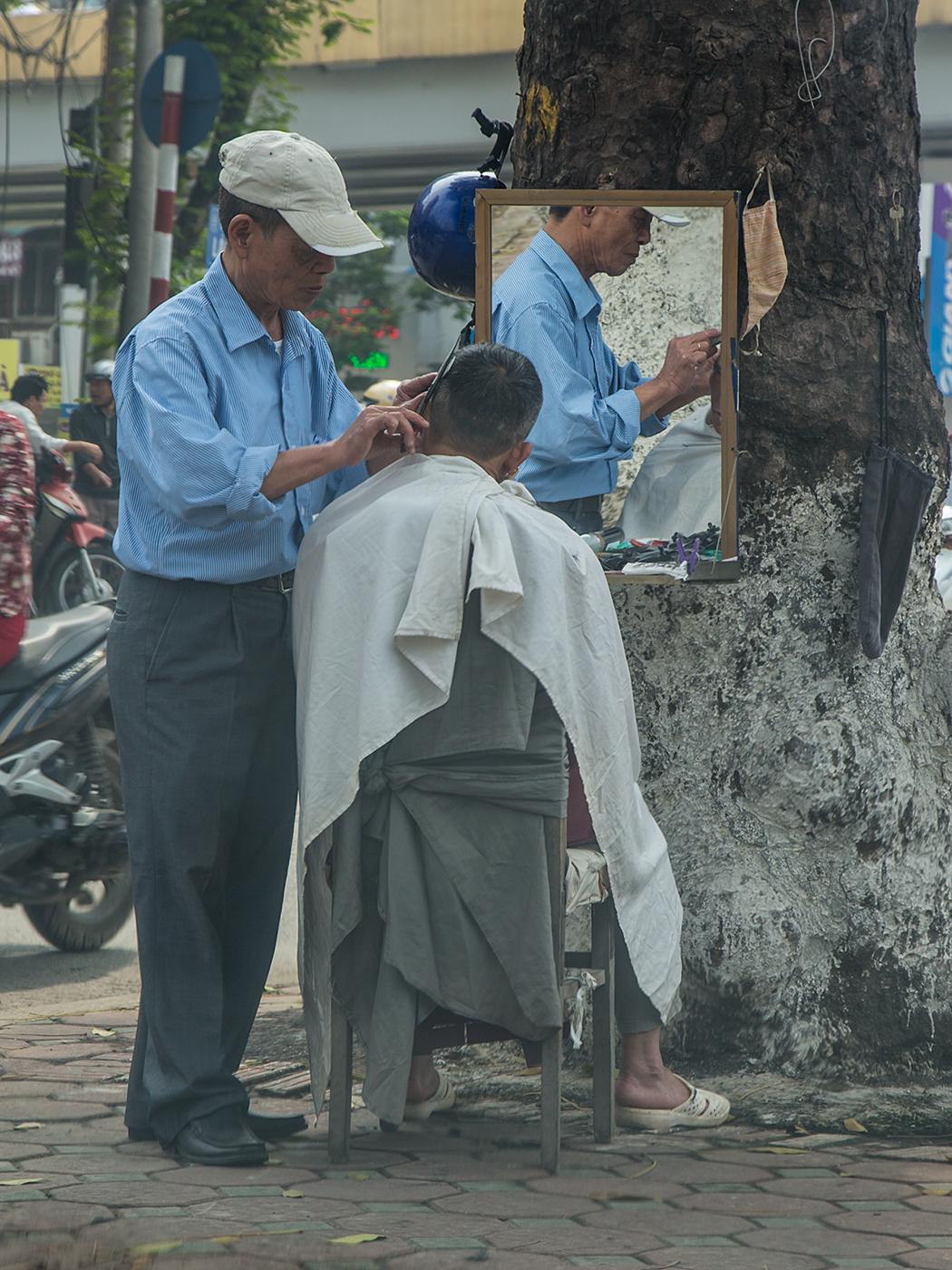 Kurzer Besuch beim Friseur