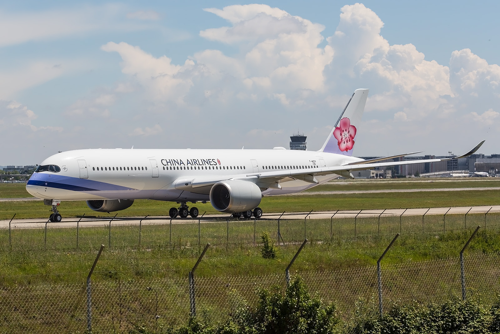 Der siebente A350 für China Airlines.