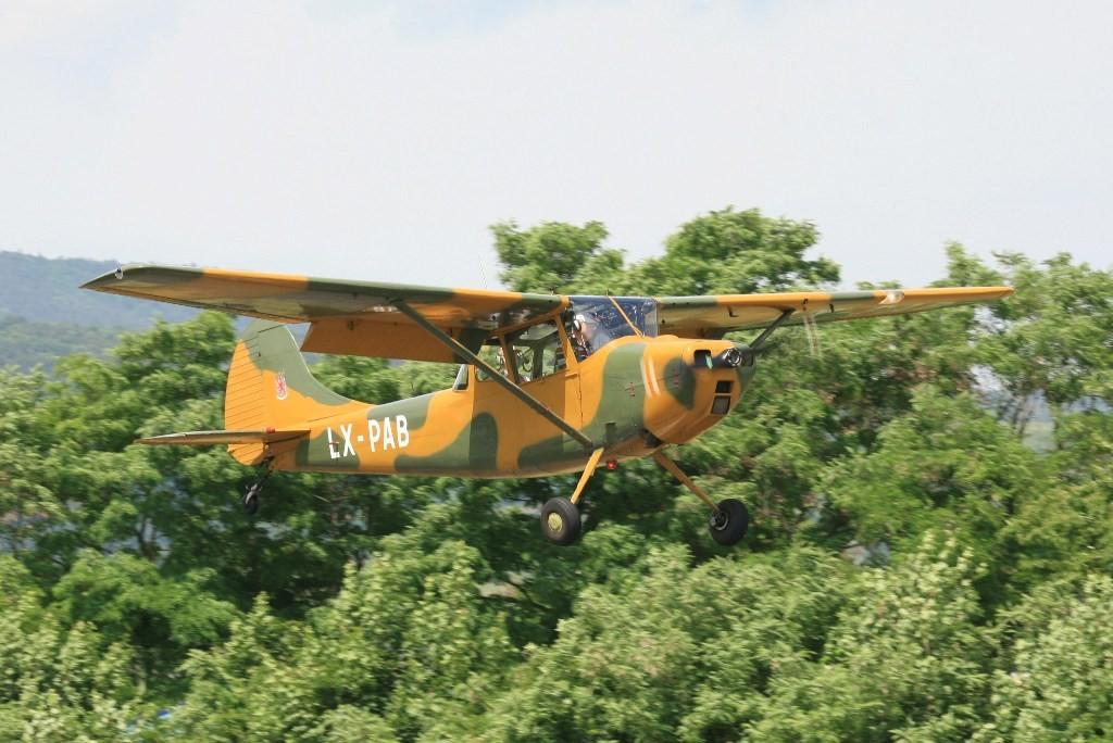 Eine Luxemburger Cessna 305C Bird Dog.