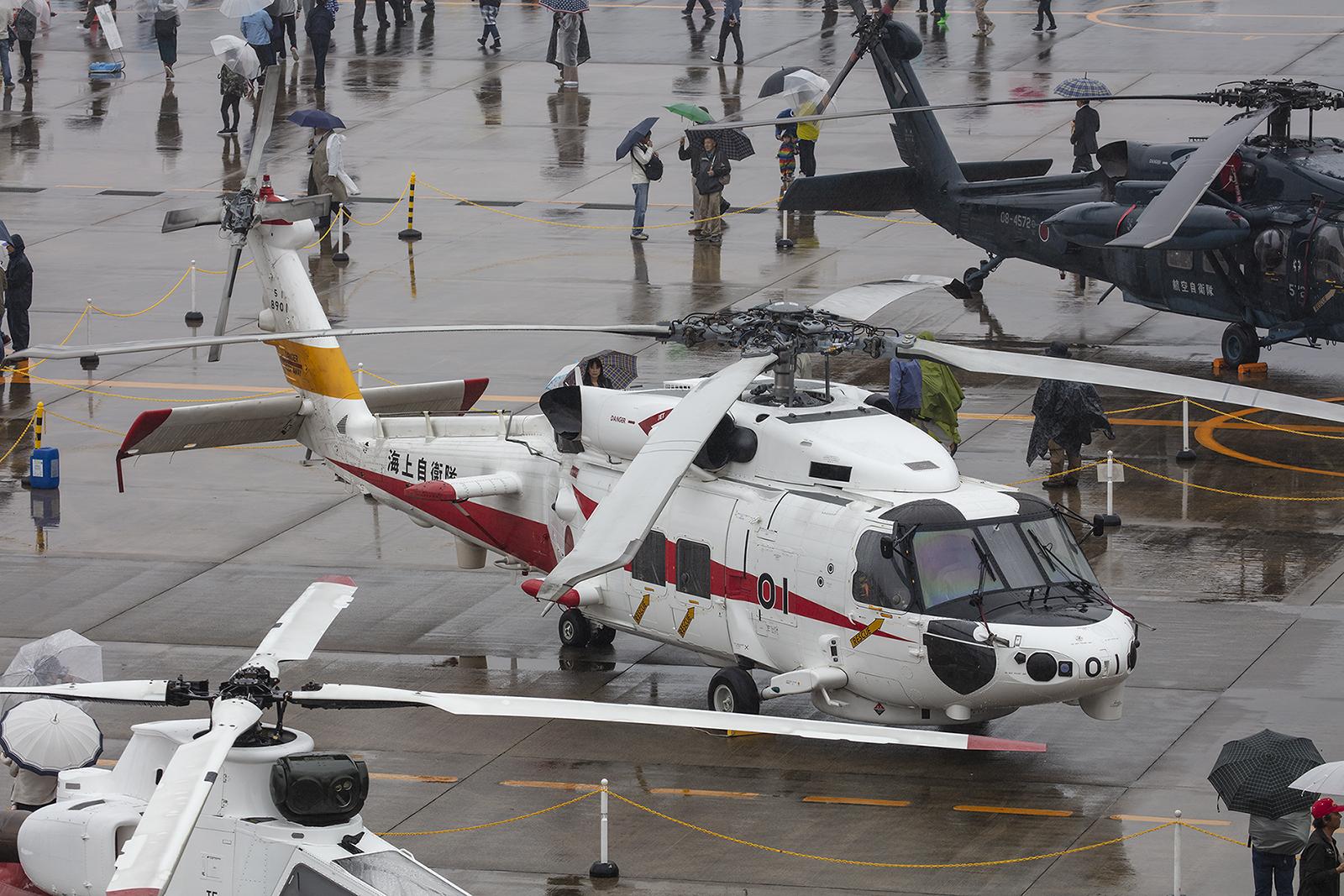 Der Prototyp des MH-60 für die Marine.