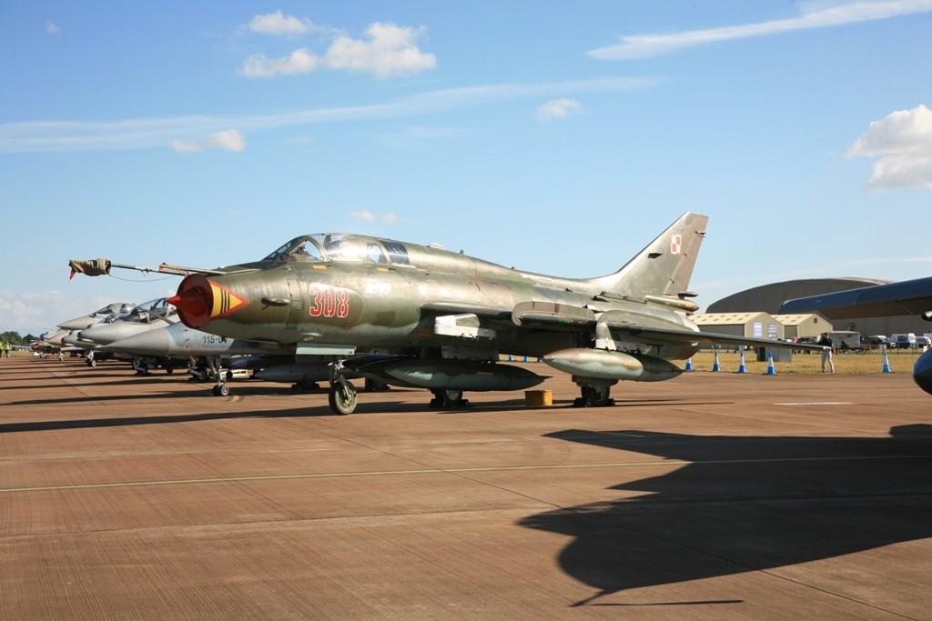 Su-22M3K der Polnischen Luftwaffe aus Swidwin.