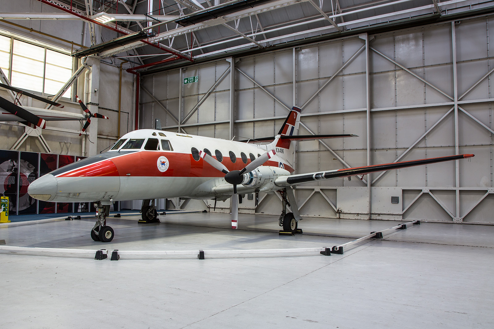 Die BAe Jetstream 31 der Royal Air Force