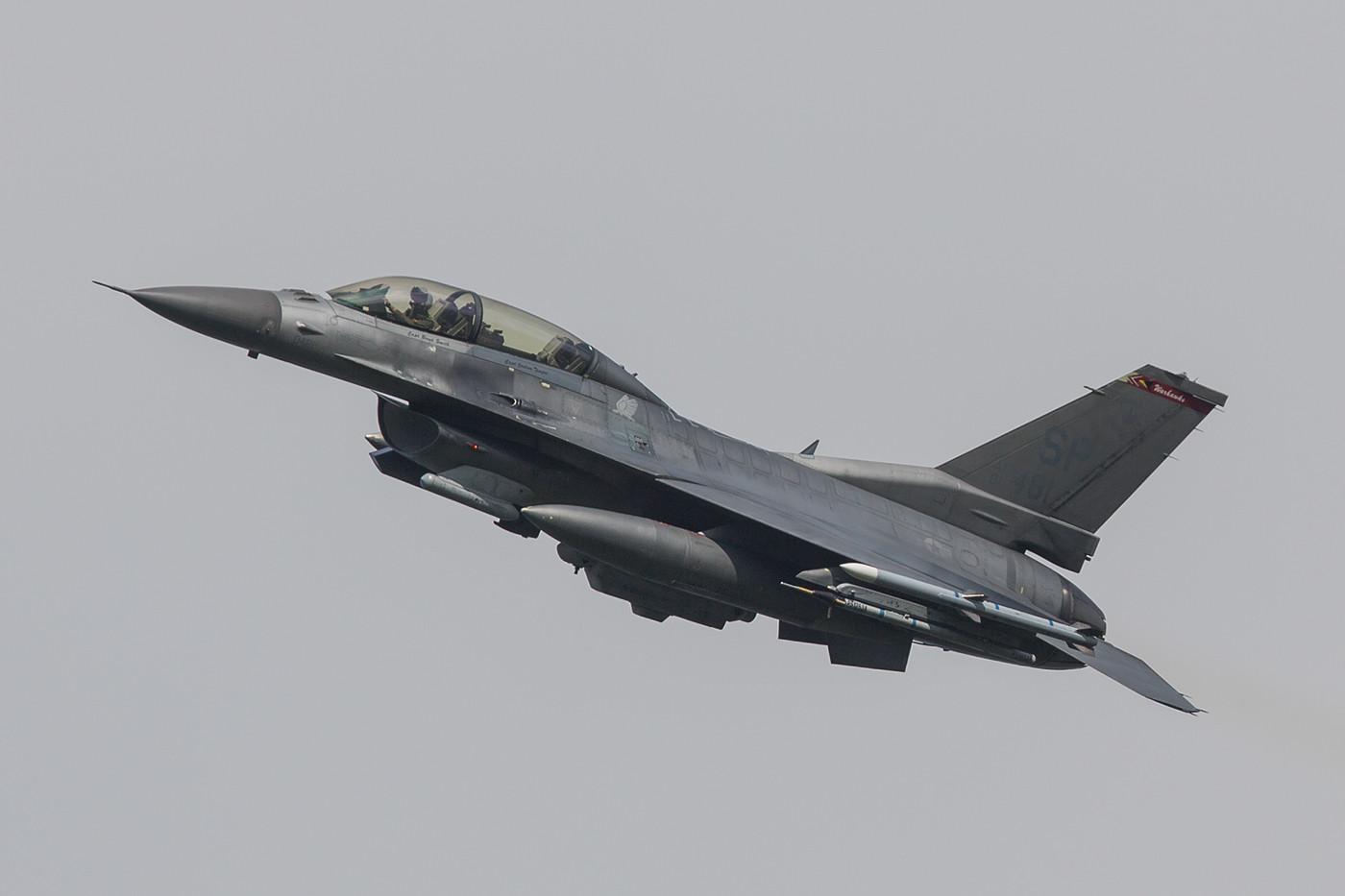 SPM 03.09.2015 91-0418, F-16D, 52nd FW Spangdahlem (Deutschland)