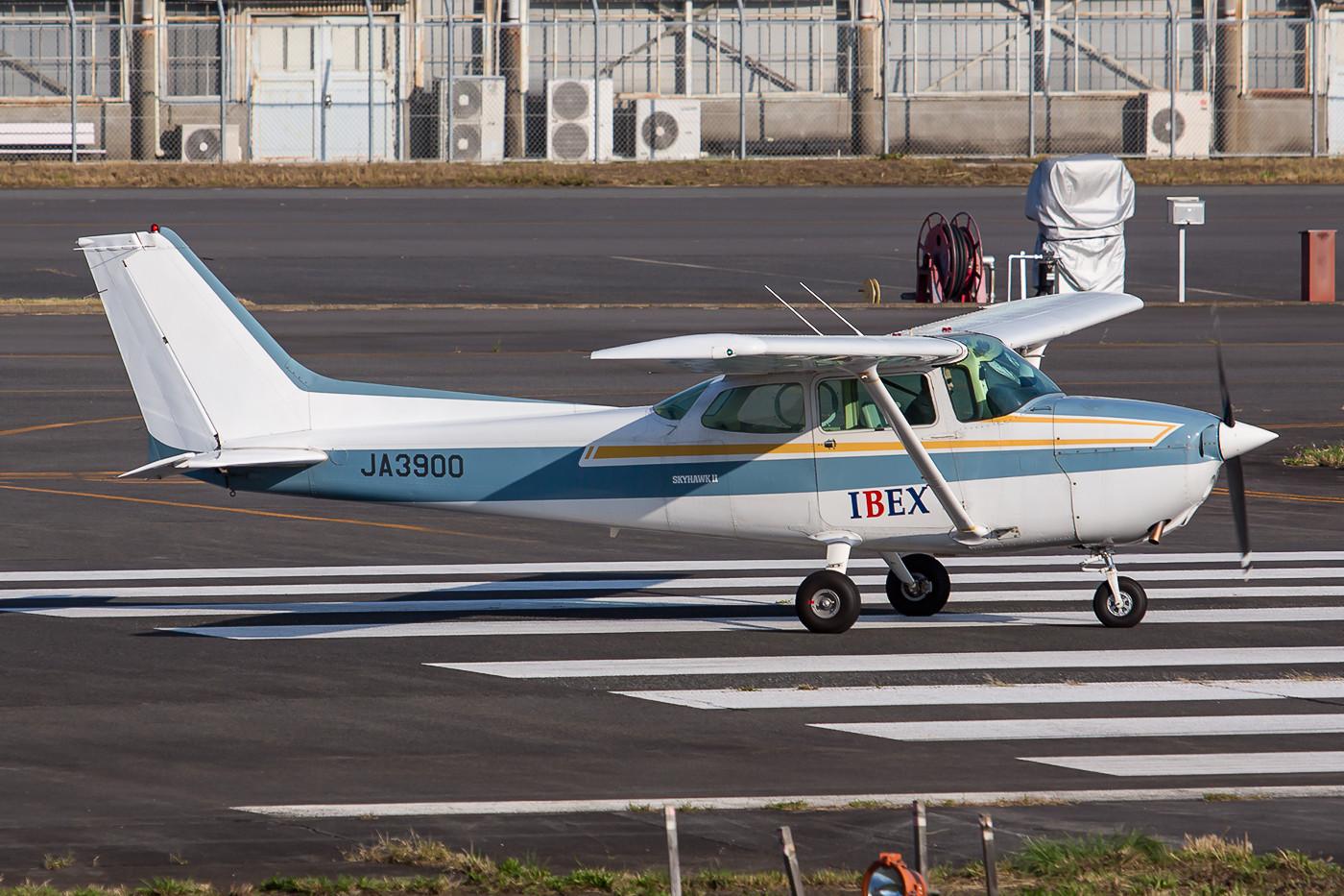 Nochmal eine Maschine der IBEX, die mit Maschinen der Canadair-Reihe für ANA Inlandsstrecken bedient.