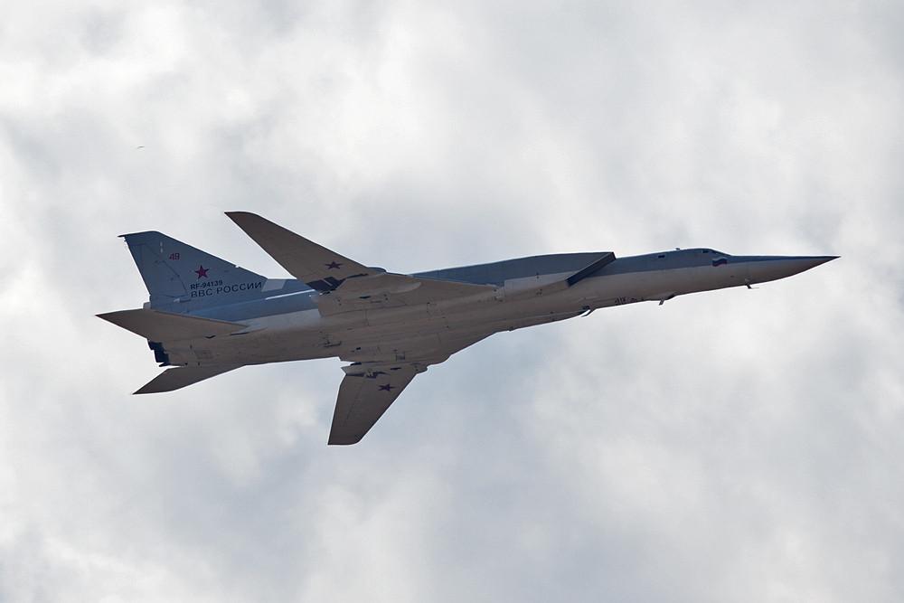 Noch über derzeit 83 flugfähige Überschallbomber vom Typ TU-22M verfügen die Russischen Streitkräfte.