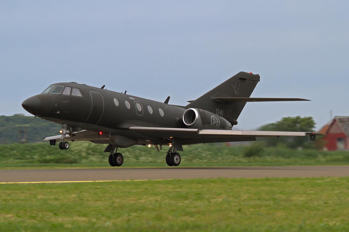 Falcon 50 aus Rygge