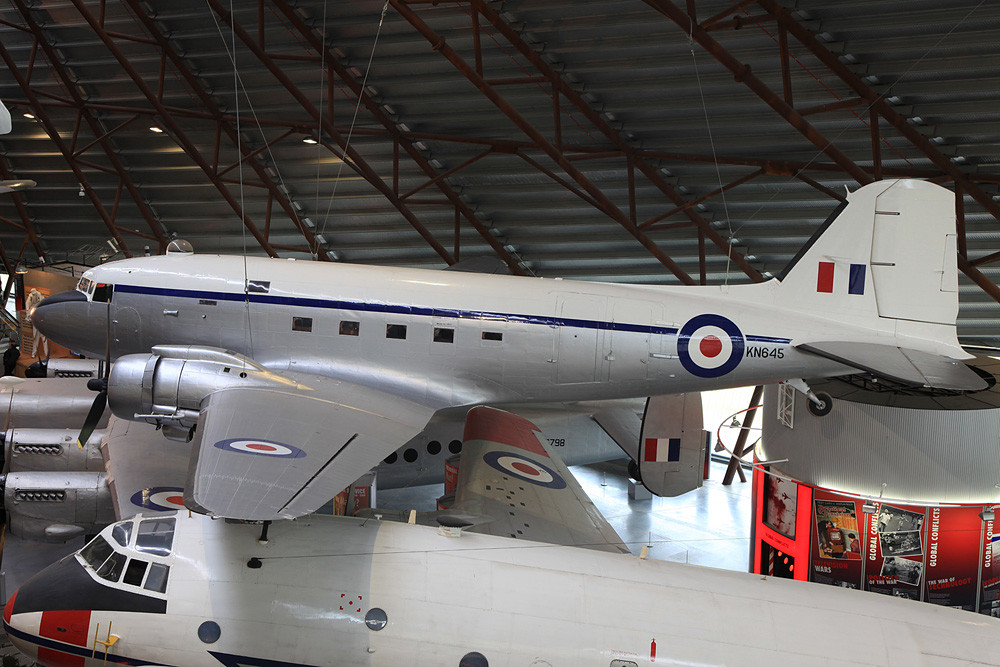 Auch in der Royal Air Force wurde die DC-3 eingesetzt.