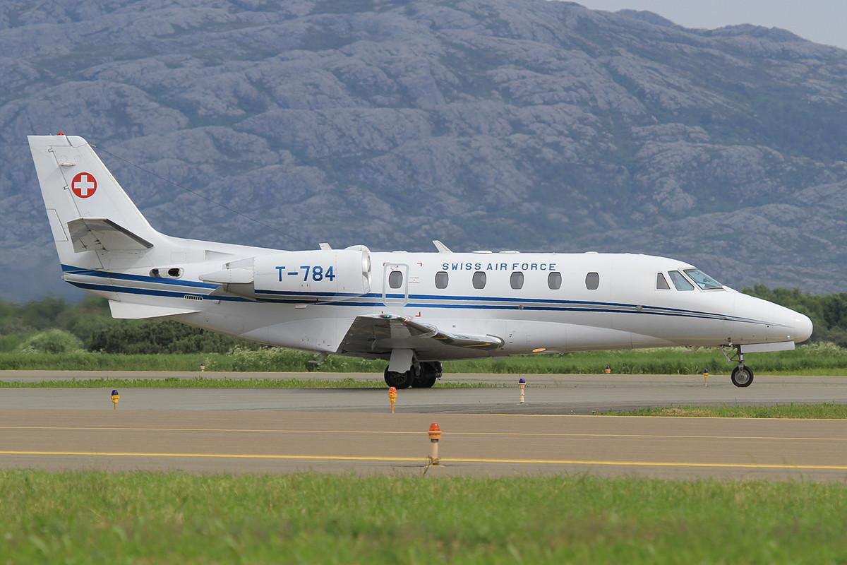 Cessna 560XLS aus Bern.