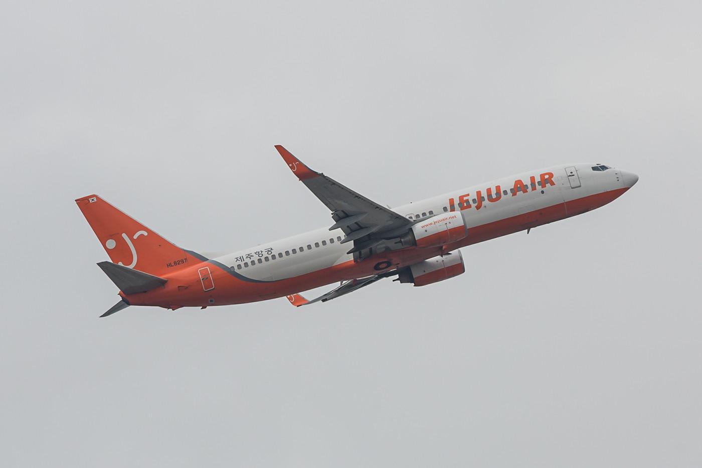 Jeju Air betreibt derzeit 20 Boeing 737-800 von ihren Basen in JEju und Gimpo aus.