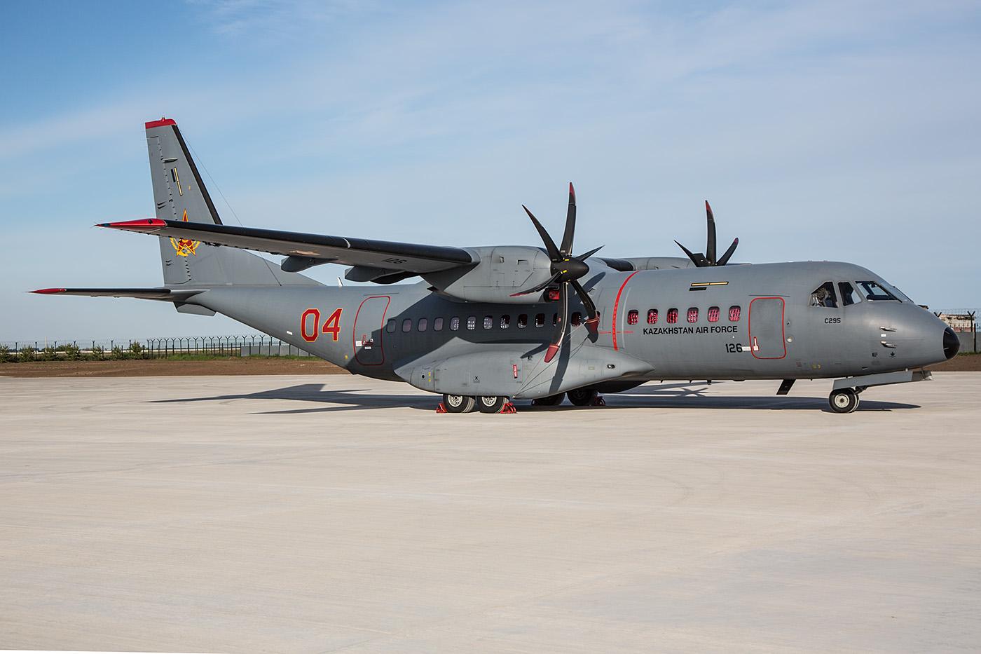 Die CASA 295 werden die alten Antonov An-26 ersetzen.