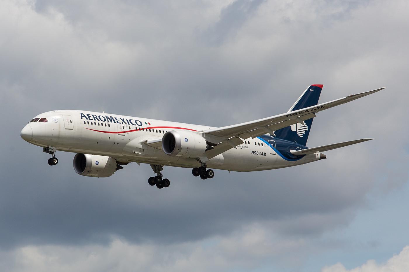 Aeromexico hat seine Langstrecke nach Europa ebenfalls komplett umgestellt.