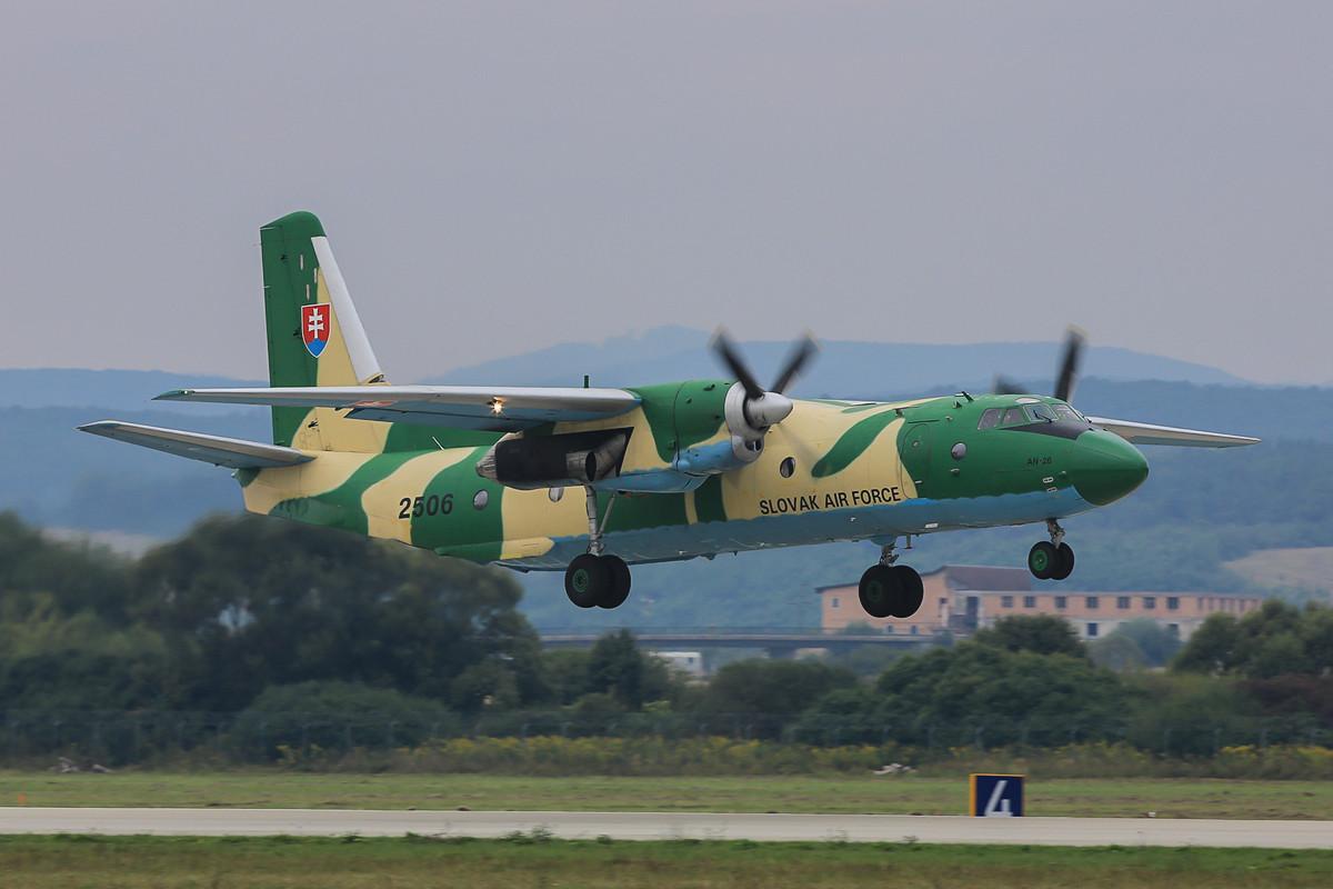 Die letzte AN-26 der slowakischen Luftwaffe.