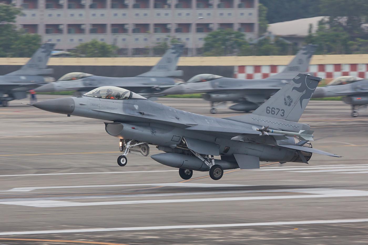 Die 6673 gehört zur 26th TFW, einer von drei Frontline-Staffeln, die in Hualien zuhause sind.