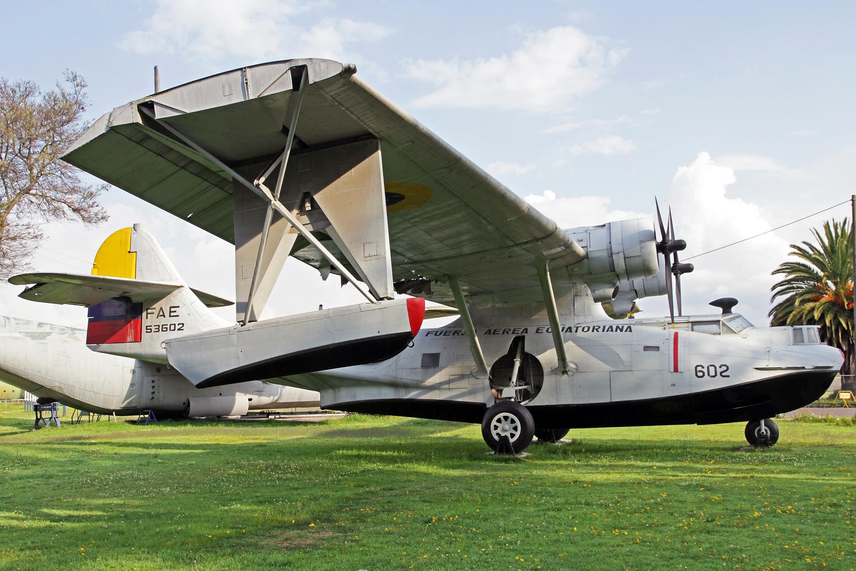 Fuerza Aérea Ecuatoriana Consolidated PBY-5A Catalina FAE-53602