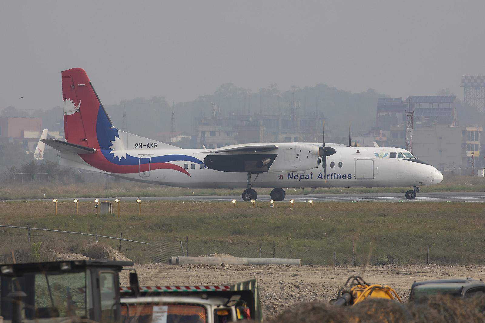 Nepal Airlines betreibt einige chinesische Flugzeugmuster, wie die MA-60.