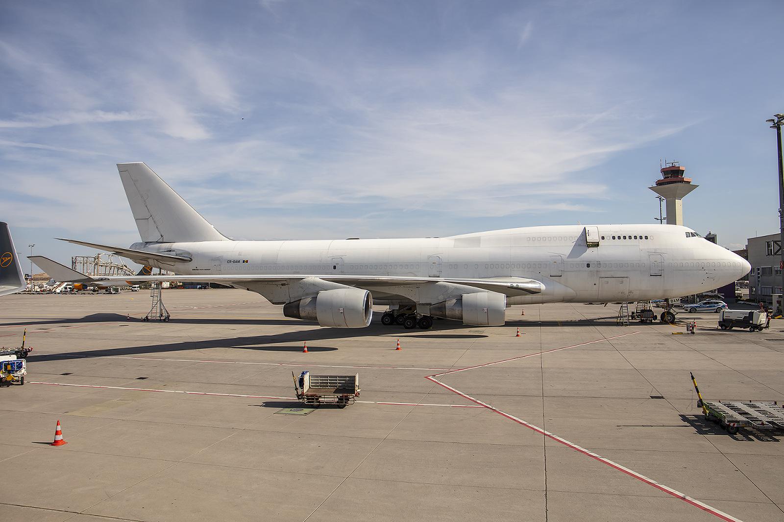 ER-BAM, noch ein Jumbo der Aerotranscargo.
