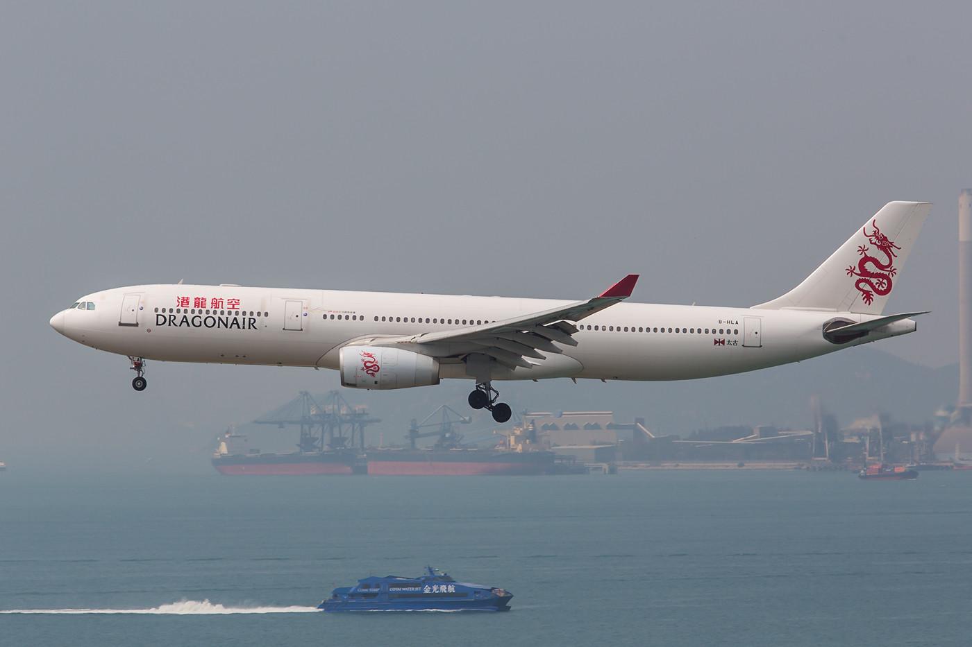 Dragon Air ist eine 100%-tige Tochter von Cathay Pacific und der Swire Group.