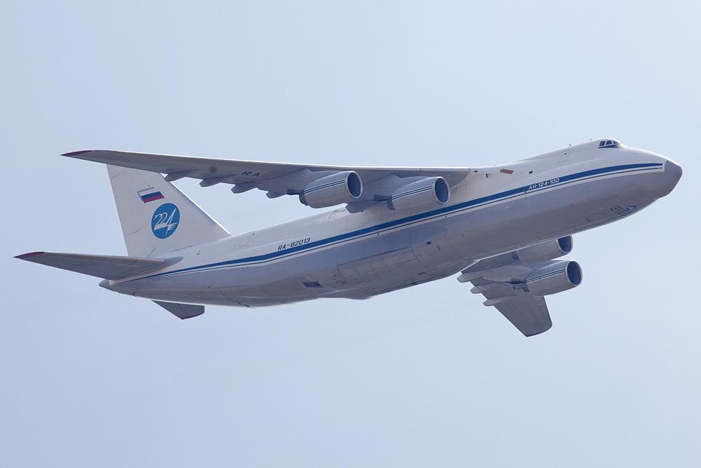 AN-124 der 224th Flight Unit, die innerhalb der Luftwaffe eine Sonderstellung einnimmt.