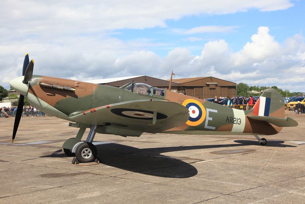 Die erste Serienvariante der Spitfire die Mk.I