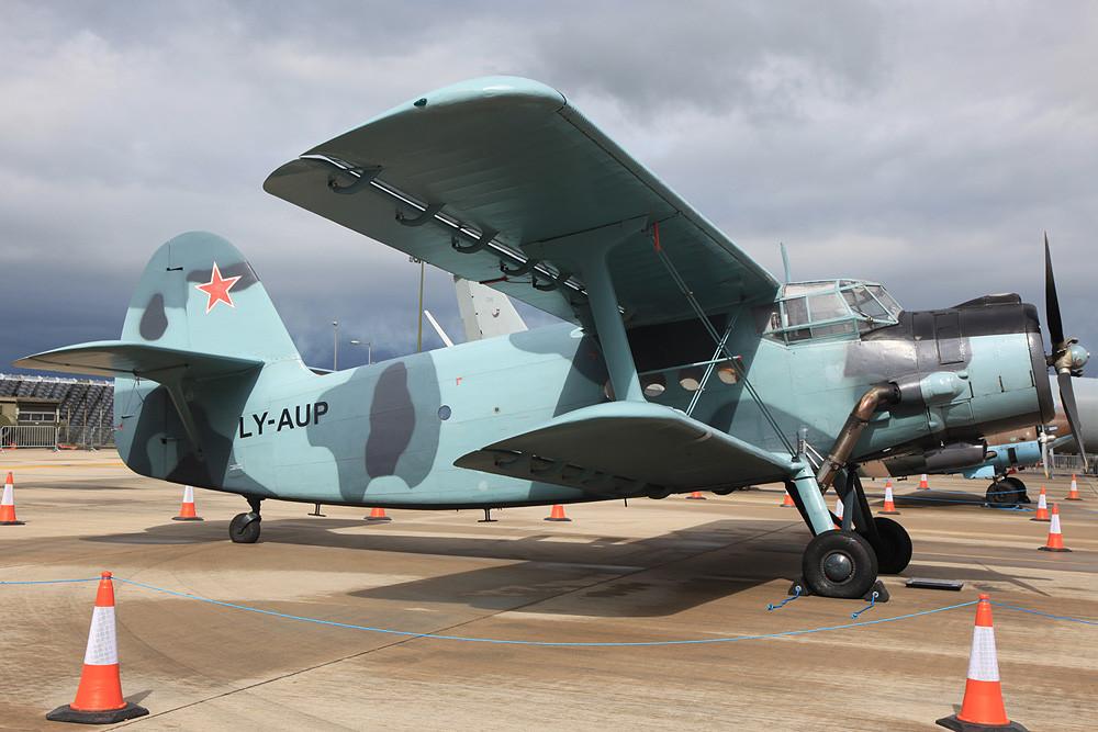 Private An-2, nicht ganz original lackiert.