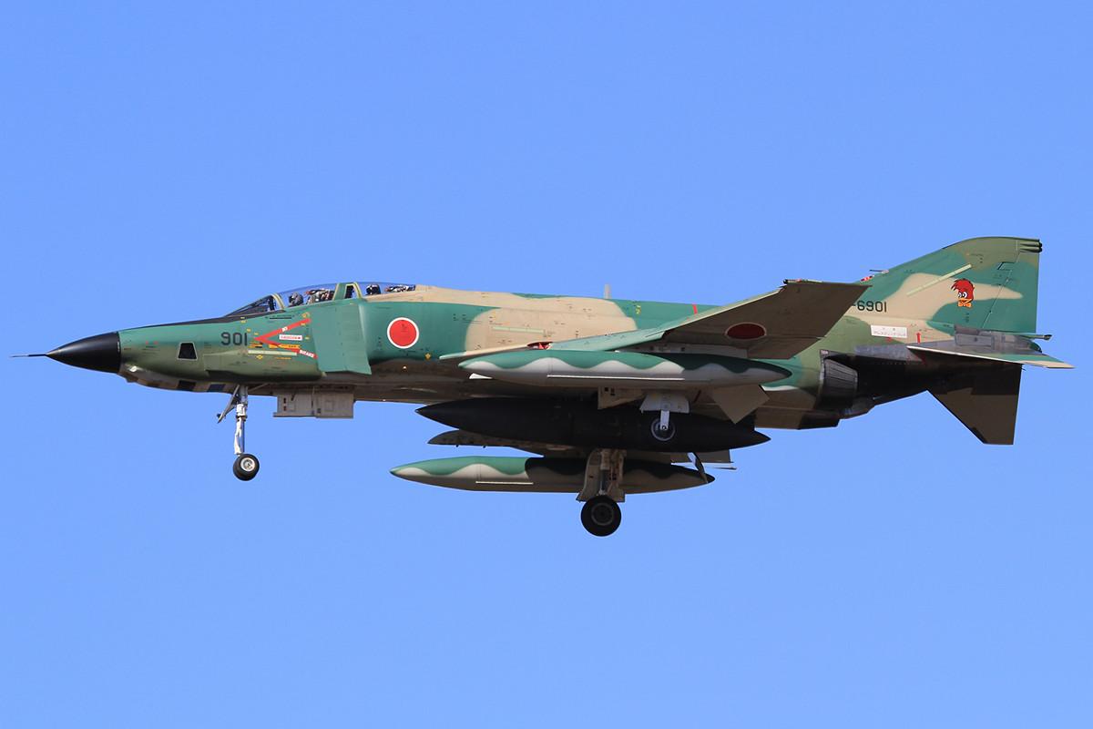 RF-4 EJ in ihrer schönen bunten Camouflagetarnung.