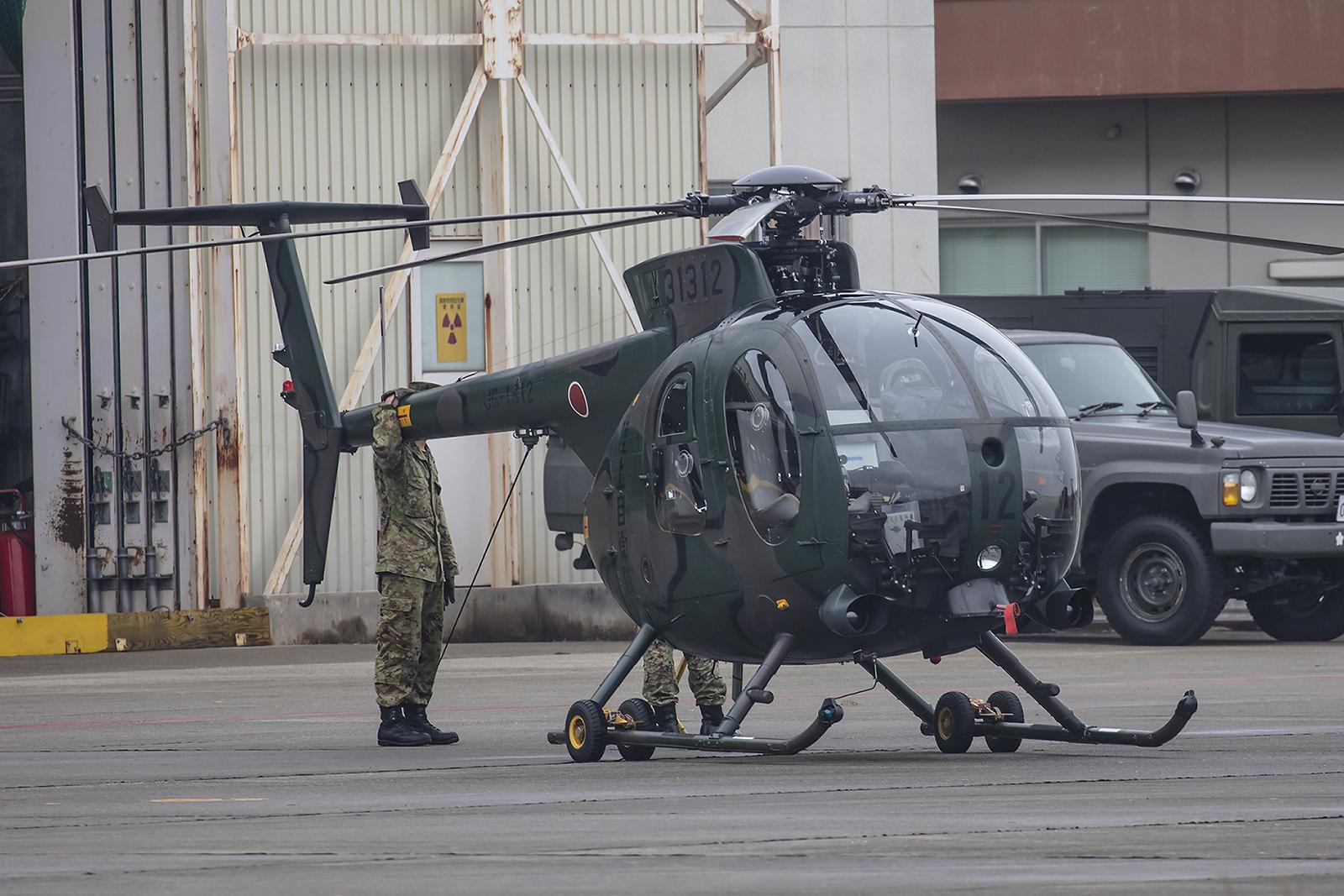 Am meisten hat mich der OH-6 mit seiner Geschwindigkeit und Beweglichkeit beeindruckt.