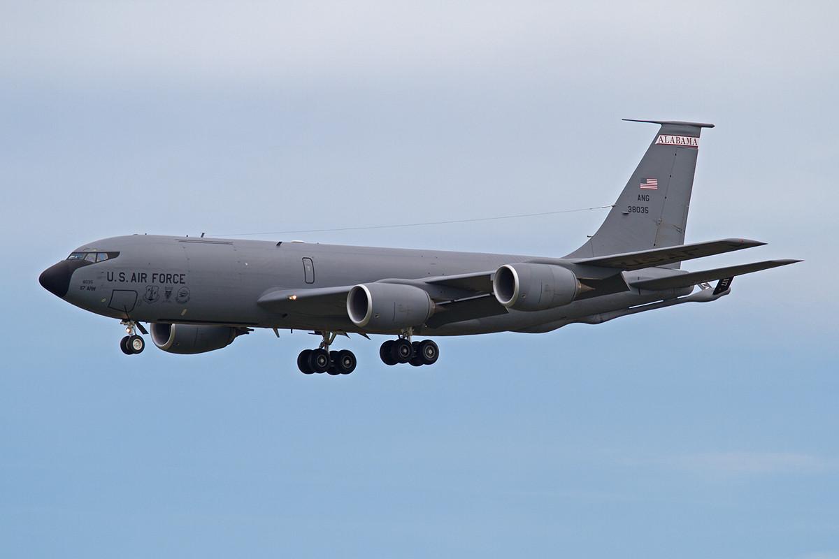 03.06.2013; 63-8035, KC-135R der Alabama ANG (117 ARW, Birmingham ANGB)